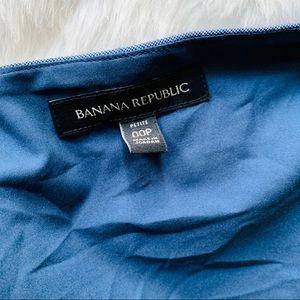 Banana Republic Dresses - Banana Republic Cross Hatch Faux Wrap Dress 00P